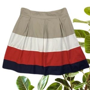 Esprit Size 14 Cotton A-Line Skirt French Look